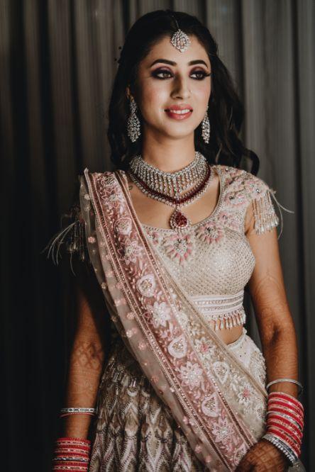 bridal outfit details | indian bridal details | Destination Wedding in Udaipur