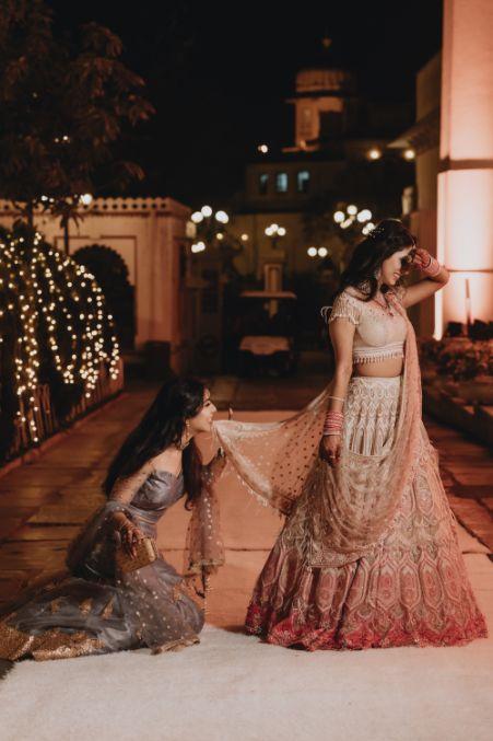 bff photo shoot goals | Destination Wedding in Udaipur