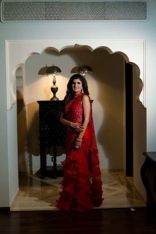 saree for sangeet night