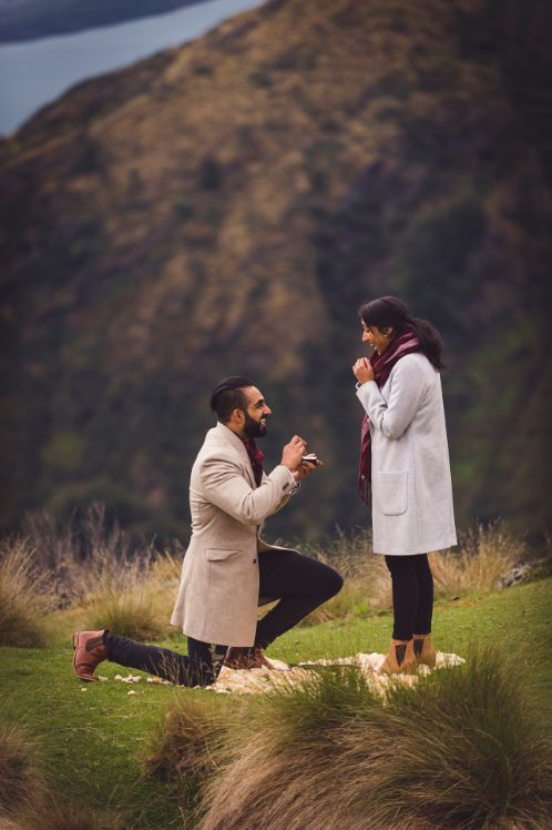 he asked | indian proposal in New Zealand | Cutest Surprise Proposal Ideas