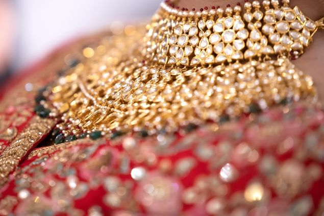indian bridal jewellry | kundan necklace