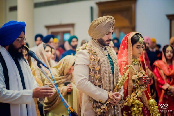 sikh wedding | anand kraj ceremony