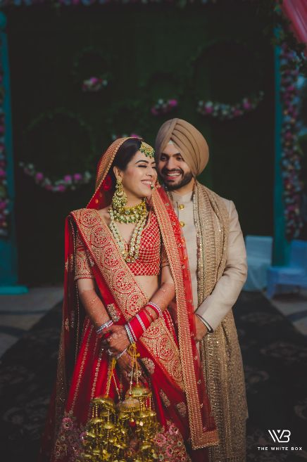 indian bride and groom photography ideas