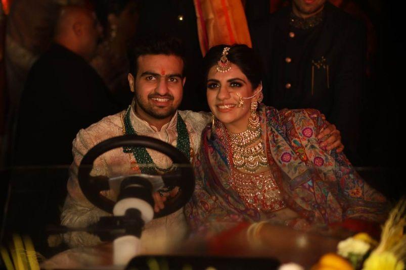 vidai ceremony | indian wedding diaries | Anita Dongre Wedding Lehenga