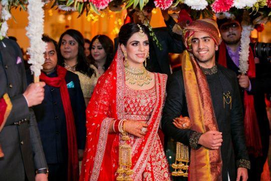 bridal entry ideas | Indian weddings Anita Dongre Wedding Lehenga