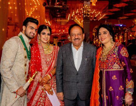 guests at indian weddings | Anita Dongre Wedding Lehenga