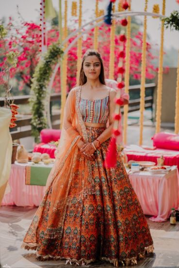 beautiful outfit details | haldi outfit