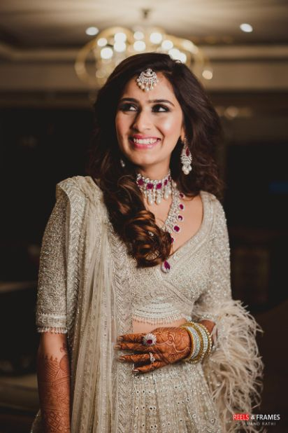 reception look for an indian bride | Major Mehendi Outfit Goals