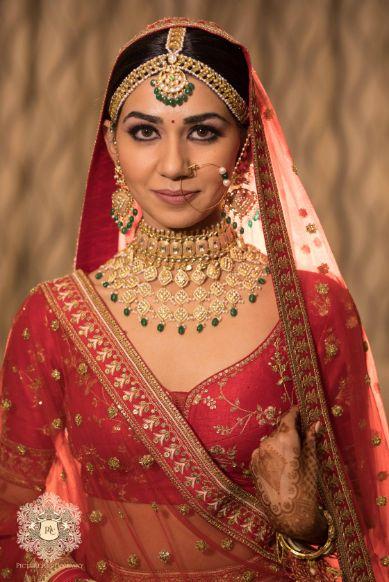stunning indian bridal jewellery