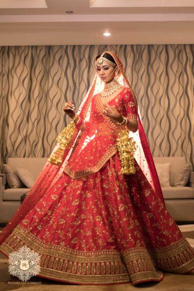 stunning indian bridal lehenga