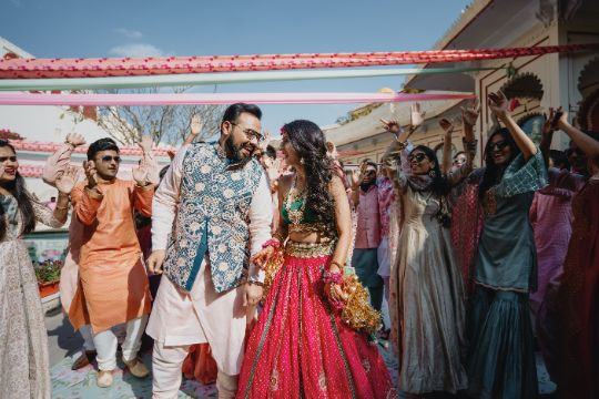 couple dance | indian mehendi ceremony