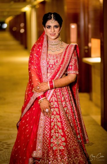 indian bridal photos hoot in trend | Anita Dongre Wedding Lehenga