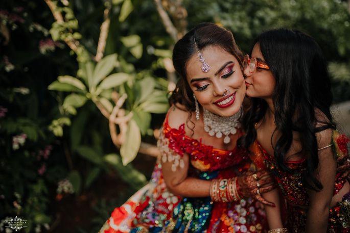 kids at indian weddings | Stunning Colourful Wedding Lehenga