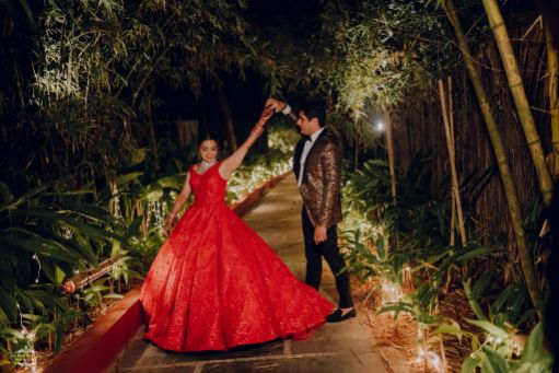 hand in hand | twirling bride