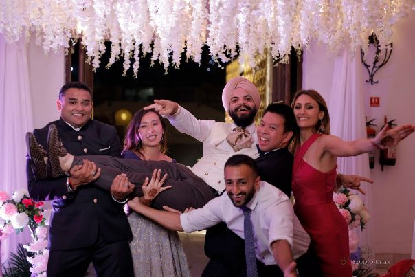 party | indian weddings | Stunning Reception Look