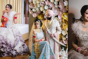 pastel wedding with a stunning recption look