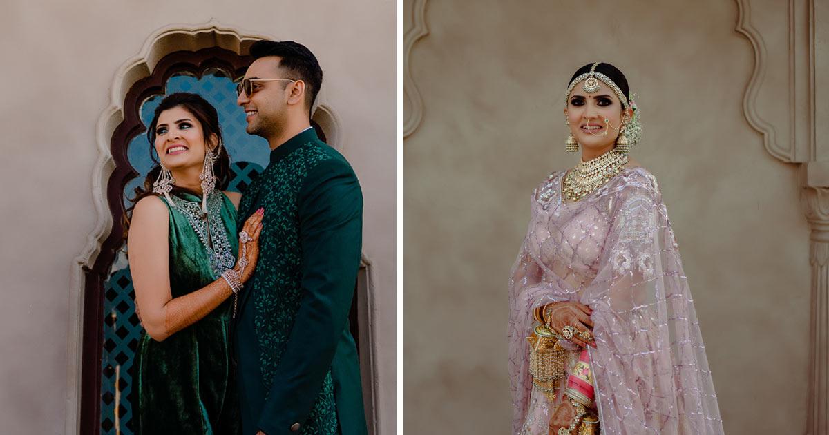 Niharika and Kaushal | delhi velvet | delhi wedding