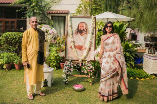 satsang pooja | indian wedding functions