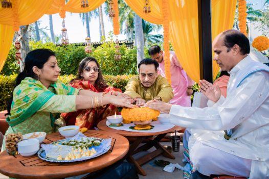 indian wedding rituals | haldi ceremony