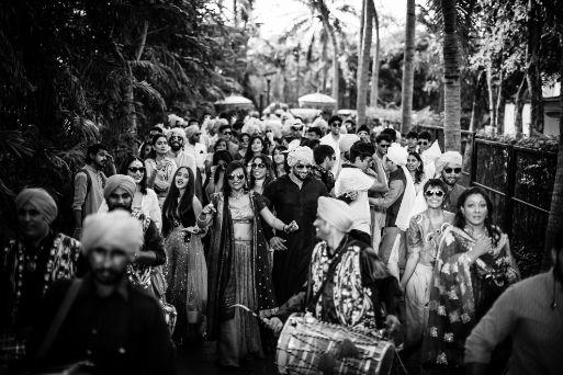 baarat entry | indian wedding | Beach Wedding in Hua Hin | Beach Wedding in Hua Hin