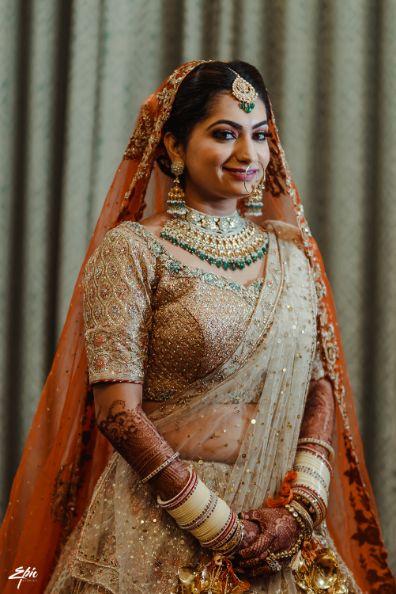 beautiful indian bridal photo shoot   Wedding at Ramoji Film City
