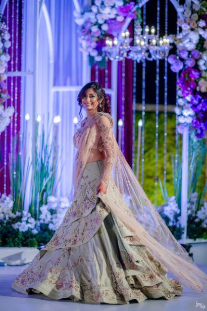 gaurav gupta gown | indian wedding real indian wedding | pink lehenga | indian wedding bridal lehenga | designer | Designer wedding Lehenga Modern design wedding lehenga | modern design indian bridal lehenga #wittyvows #indianwedding #indianbride #realindianwedding #destinationwedding  |#twirlling
