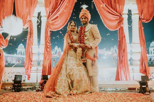 beautiful indian wedding decor   Wedding at Ramoji Film City