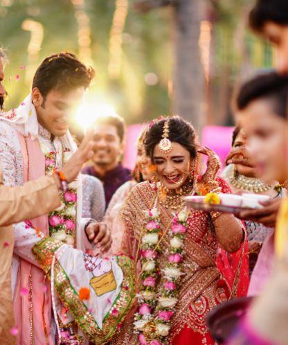 happy bride   happy groom   v