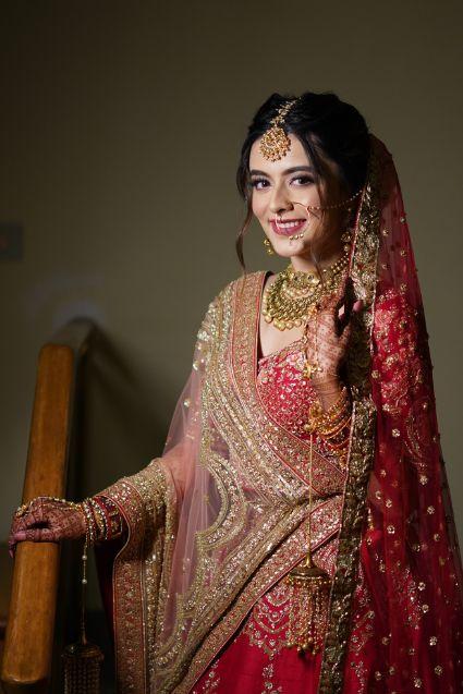 beautiful bridal portrait ideas   indian wedding   Prettiest Mumbai Wedding