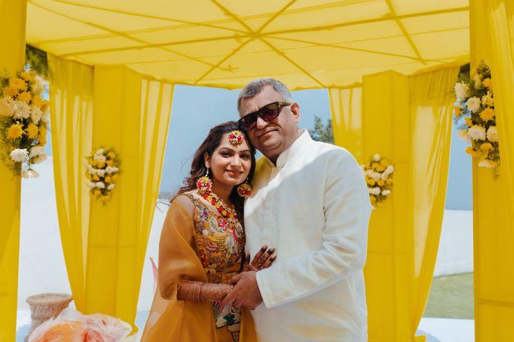 father of the bride   haldi ceremony