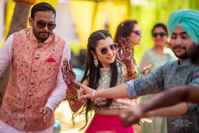 dance | mehendi function | Cutest Haldi Ceremony