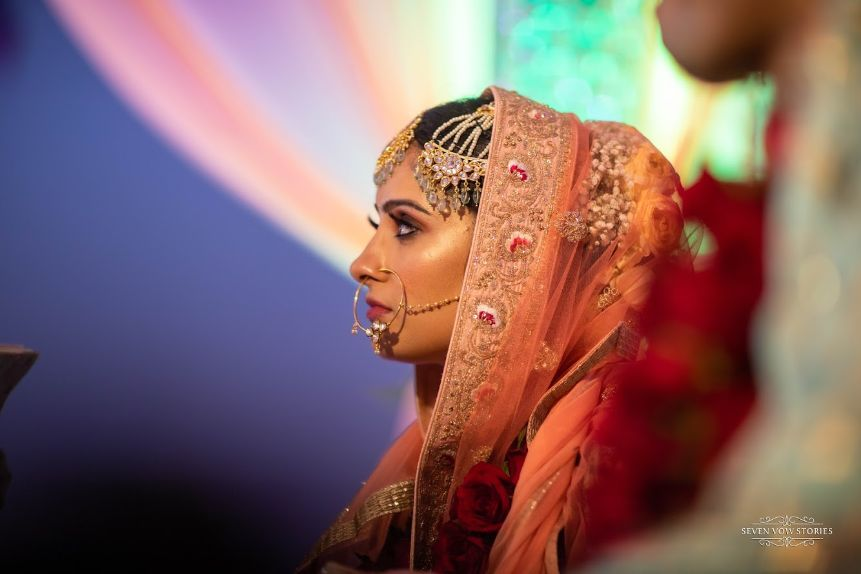 beautiful indian bridal portrait