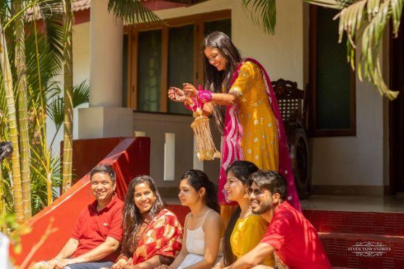 indian wedding ritual | kaleera ceremony