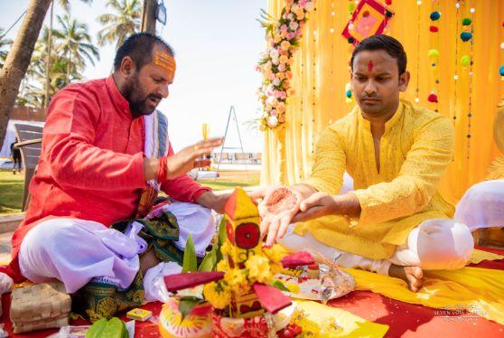 haldi ceremony | indian wedding rituals | Cutest Haldi Ceremony