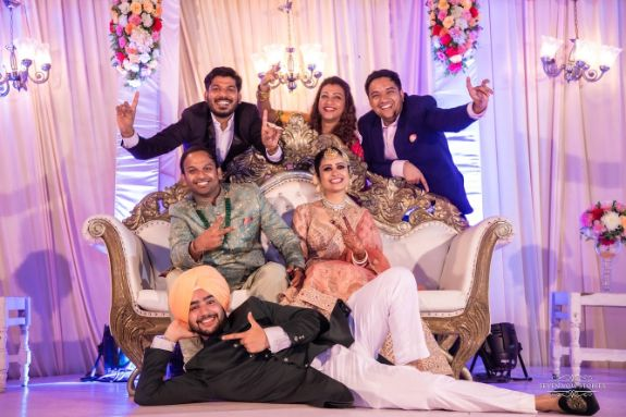 happy moments from an idnain wedding