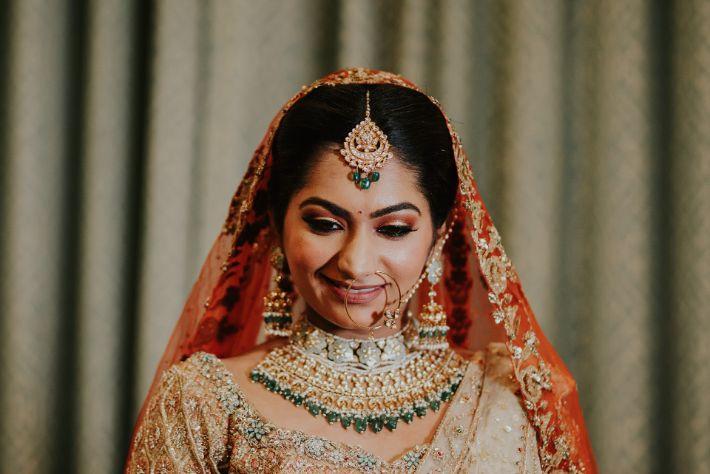 stunning indian bridal portraits   Wedding at Ramoji Film City