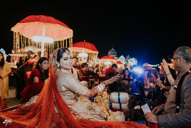 indian brodal entry ideas   Wedding at Ramoji Film City