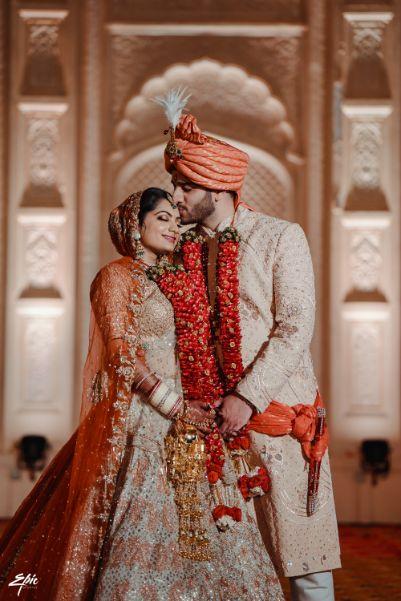 indian couple | couple goals | stunning varmala | Wedding at Ramoji Film City
