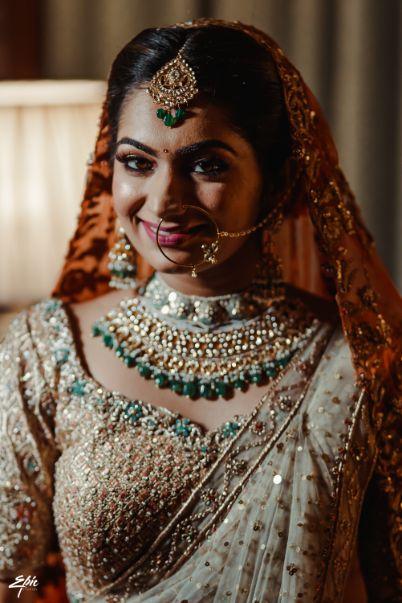 indian bfidal jewellery designs  Wedding at Ramoji Film City