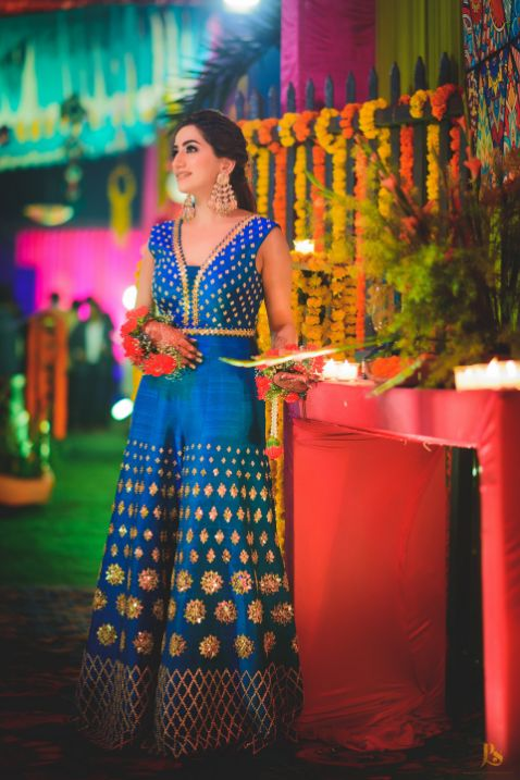 mehendi outfit , papa dont prech outfit , indina wedding , indian bride