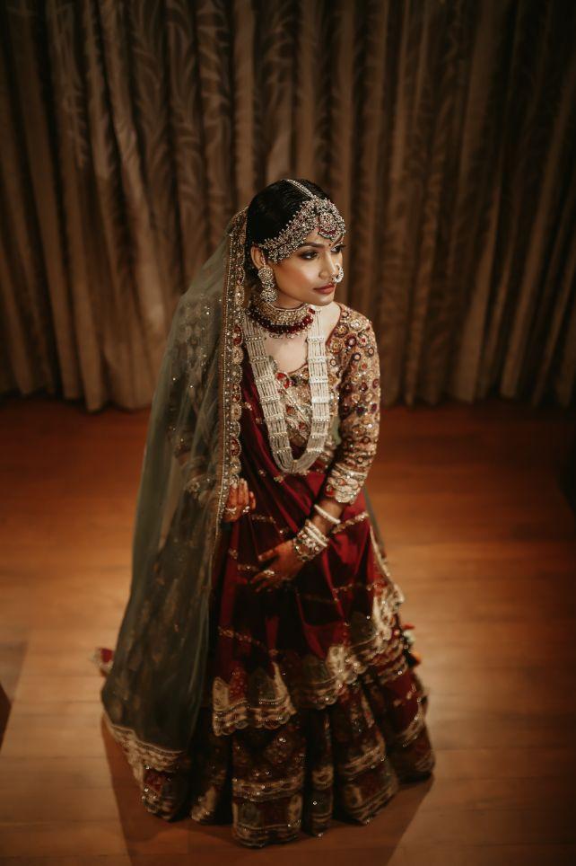 bridal portraits and photography , indian wedding , lehega , wedding lehenga , Gujrati bride