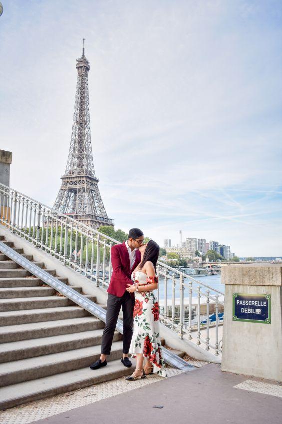 pre wedding shoot in paris , paris , wittyvows destination wedding  in Phuket personalised henna design love story lehenga