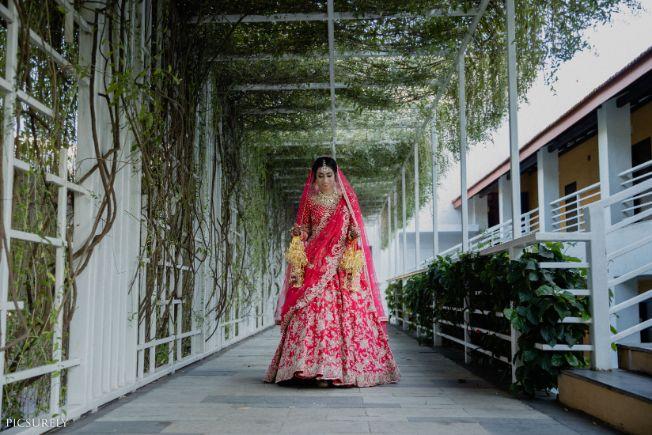 indian bridal lehenga , weddings , wittyvows , indian bride