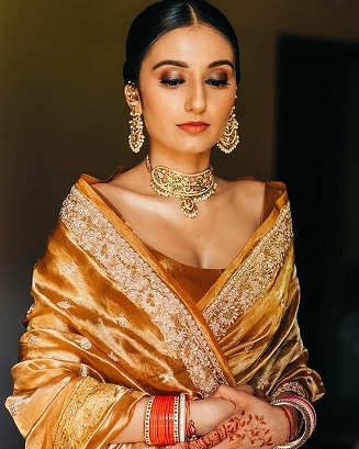 Indian wedding saree | Bride to be | Lockdown wedding