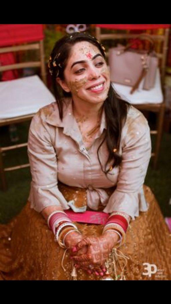 haldi moment , bride and pets , pink lehenga , indian wedding , Indian wedding , pink lehenga , couple moments , indian brides