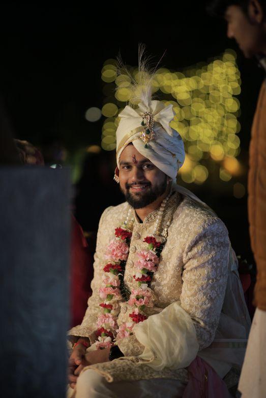 indian groom   groom photography   Intimate Wedding in Jim Corbett