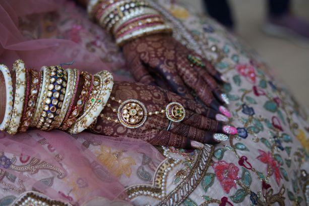 beautiful bridal bangles | Beach Wedding in Alibaugh