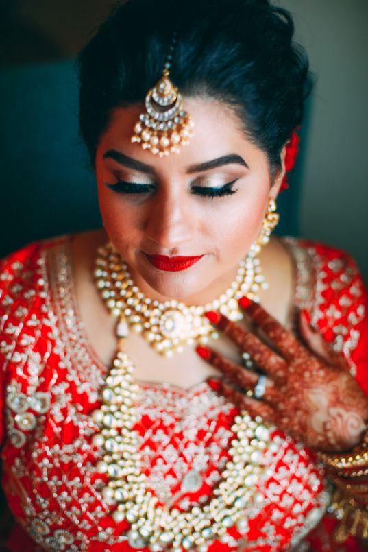 polki necklace , NRI wedding   long-distance love story