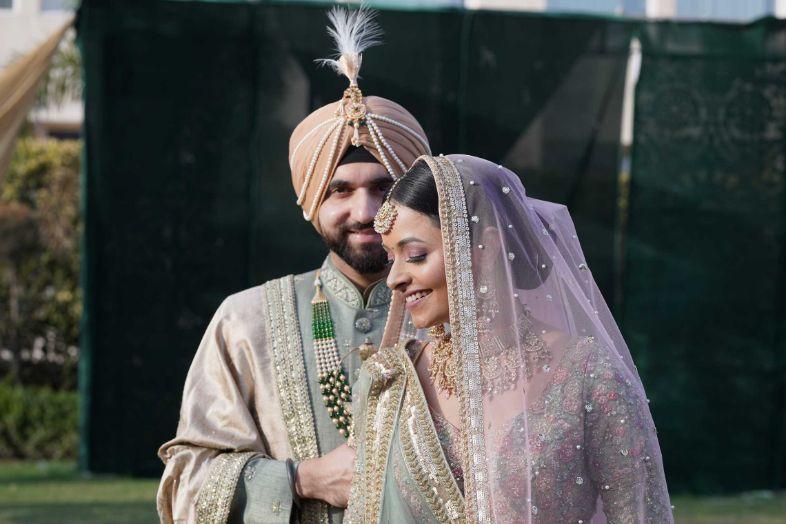 bridal portraits , indian bridal wear , indian wedding , pastel wedding , SEO - cross culture wedding  | couple outfits | bridal jewellery