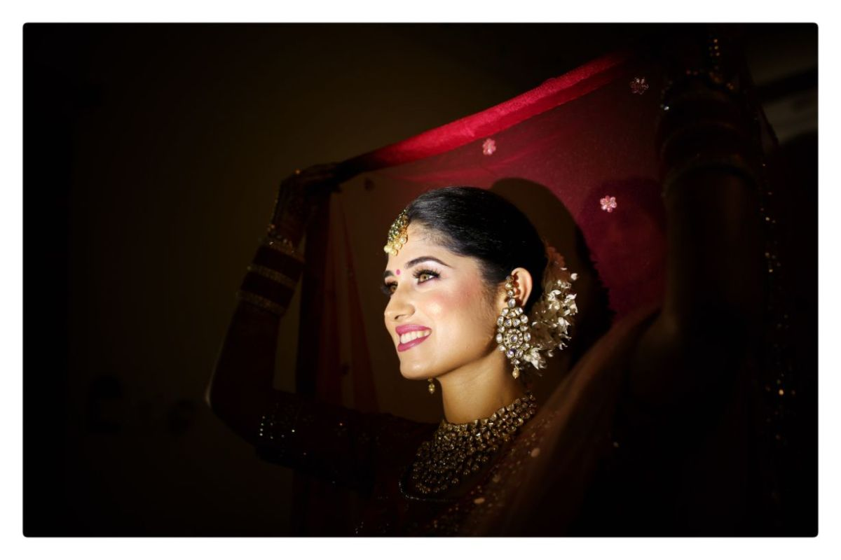 indian bridal getting ready photos